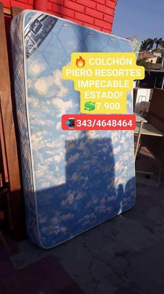 COLCHON PIERO DE REOSRTES IMPECABLE!!! 0