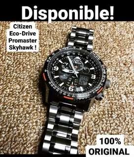Reloj citizen Eco-Drive promaster Skyhawk  ORIGINAL