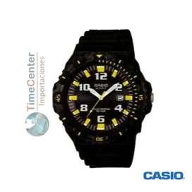 Reloj Casio Analógico, Solar, Para Hombre Mrw-s300h-1b3vdf