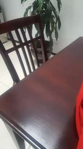 Ganga vendo espectacular comedor