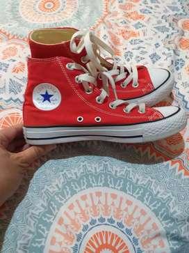 Lindas botas Converse talla 36
