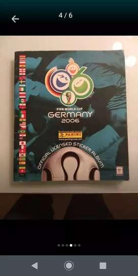 Álbun FIFA original Alemania 2006 con todas sus láminas originales
