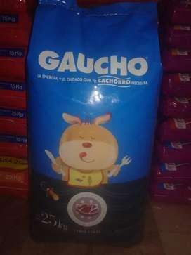 Gaucho cachorro 25kg