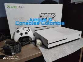 Xbox one S + juegos y membresia PROMOCION