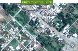 Venta de lote de 200m2 en La Concordia a dos cuadras del Banco Guayaquil