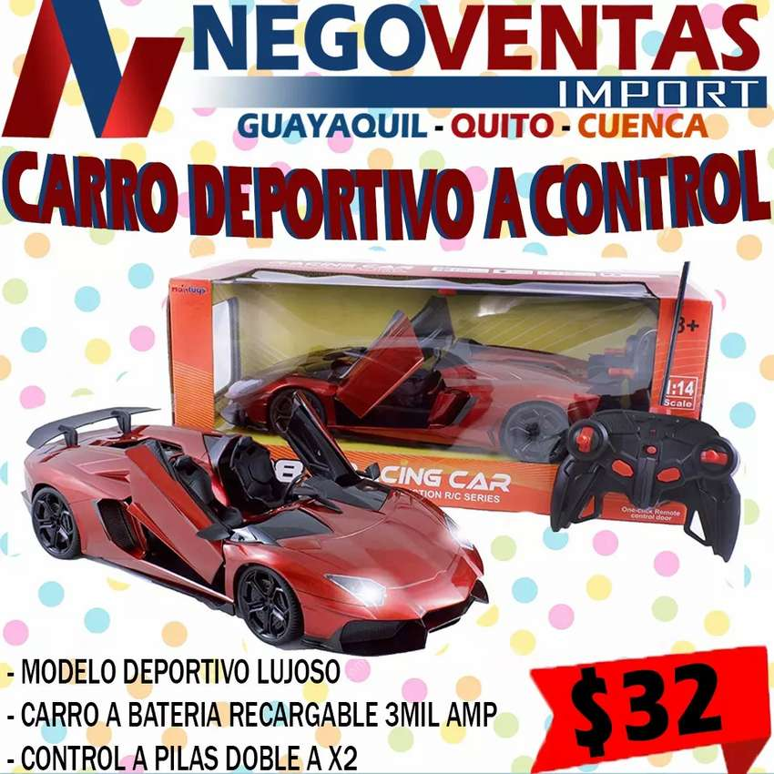 CARRO A CONTROL REMOTO DEPORTIVO 0