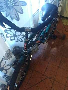 bicicleta de varón rodado 20 seminueva