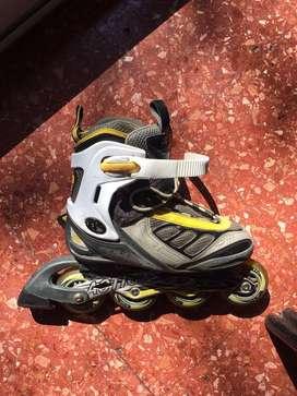 Rollers extencibles del 36 al 39 Action Sport Performance Confort .poco uso ruedas 76mm Abec7 aluminio