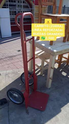 CARRITO DE CARGA SUPER REFORZADO!!!