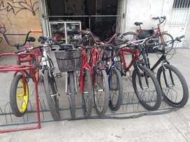 Taller de bicicletas El padre es Dios