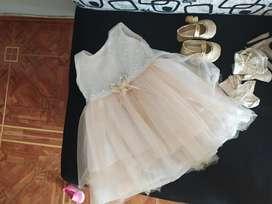 Vendo Vestido de Bautizo