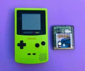 Game Boy Color Nintendo con Harry Potter