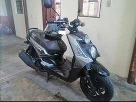 Vendo moto bws motard 2017