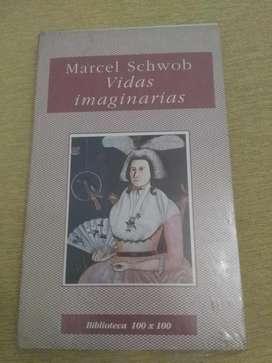 VIDAS IMAGINARIAS MARCEL SCHWOB BIBLIOTECA 100x100 EN BOLSA CERRADA