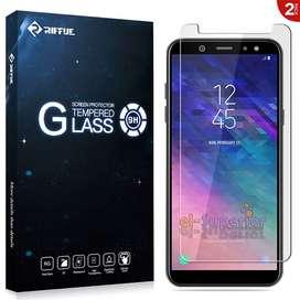 Film Protector Glass Vidrio Templado Samsung Galaxy A6 A8 2018