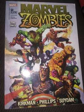 comics originales Marvel zombie,the walking dead,deadpool vs carnage y rubius virtual hero 1