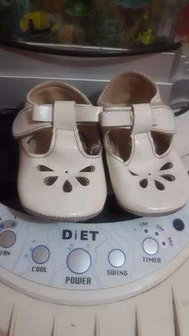 Zapatos de bebe talla 2