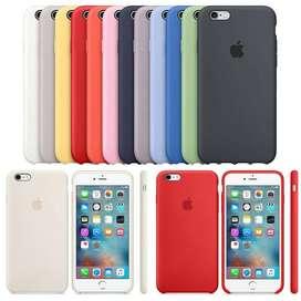 Silicone Case Forro Para Celular iPhone 6 6s 7 8 7plus 8plus