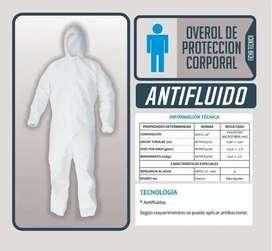 TRAJE PROTECTOR ANTIFLUIDO