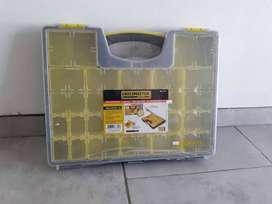 Maletin Organizador Plastico 19 Compartimientos Crossmaster NUEVO