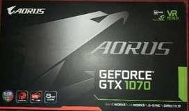 Gtx 1070 8gb Aorus