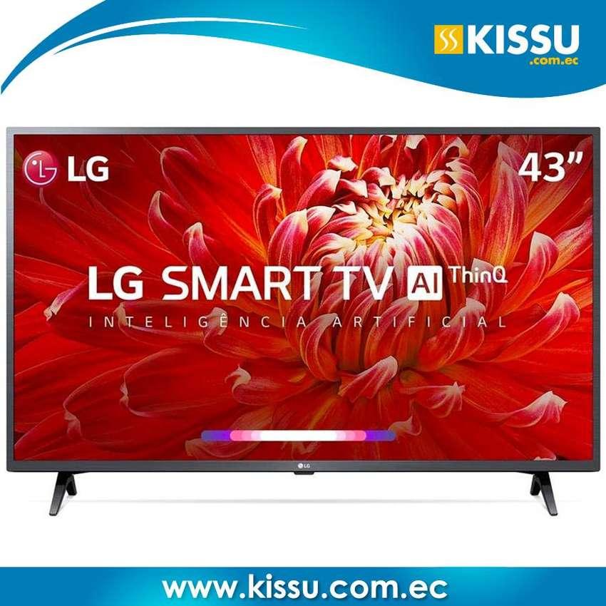 "Tv Led LG 43"" 43LM6300 smart Full hd webos 4.5 procesador quad core Bluetooth GRATIS envio 0"