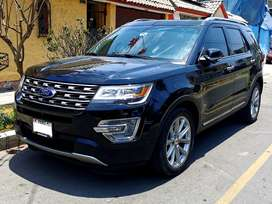 FORD EXPLORER LIMITED 2017 4x4 - 2.3Turbo