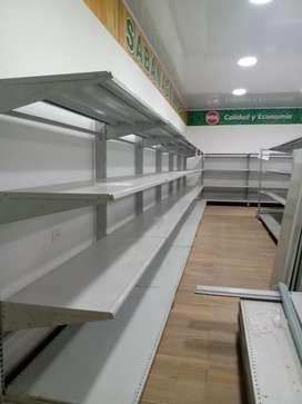 Vento estantería para supermercado