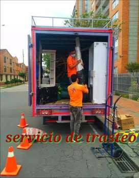 Empresa de mudanza en Bogotá acarreos trasteos