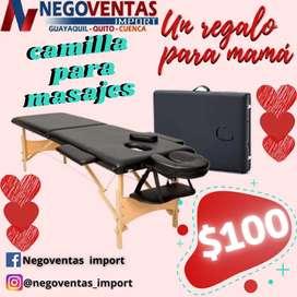 CAMILLA PARA MASAJES PORTÁTIL EN OFERTA ÚNICA DE NEGOVENTAS
