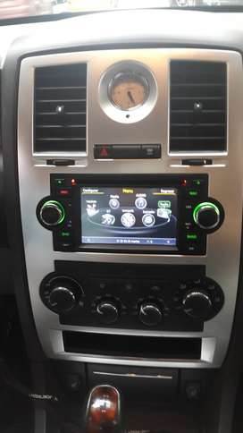 CHRYSLER 300C PT CRUISER TOWN COUNTRY ESTEREO CENTRAL MULTIMEDIA STEREO CON GPS ANDROID BLUETOOTH DOBLE DIN