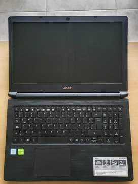 Acer Aspire 3 Core i5. Gráfica MX130. Disco Sólido 260gb