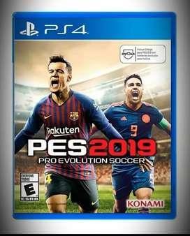 Pro Evolution Soccer Pes 2019 Ps4 Físico, Nuevo Y Sellado