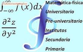 CLASES DE MATEMATICAS, FISICA