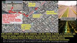 REMATO LOTE CON TITULO DE PROPIEDAD 160 M2 EN C.P. LEGUIA