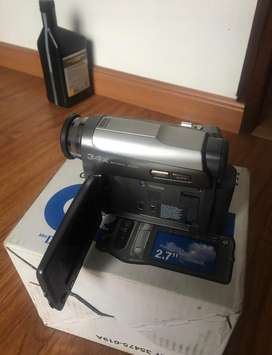 Video camara JVC. Filmadora handy cam usb microsd y sd camara fotografica