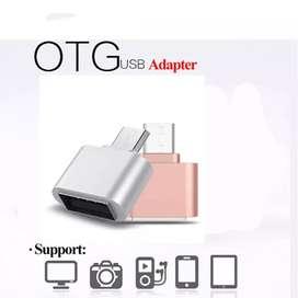 Adaptador Conversor Otg USB Micro Tipo C Mini Lector Memorias Laptop PC Celular Tablet