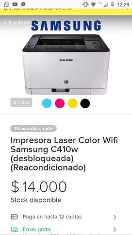 Impresora láser color wifi