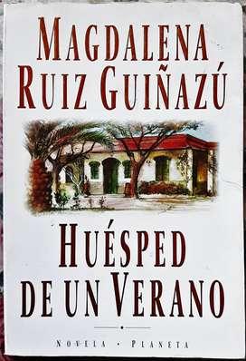 Huésped De Un Verano - Magdalena Ruiz Guiñazú - Planeta 1995