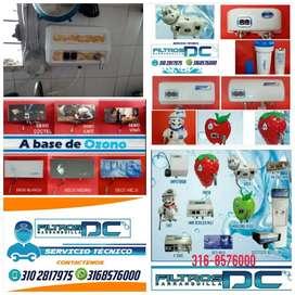 Instalación Reparación Filtros de Ozono