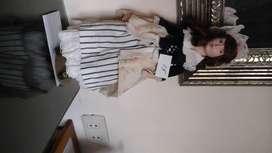 Linda muñeca en porcelana Biscuit , origen Usa.