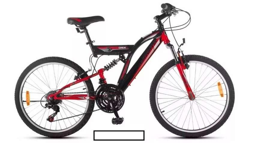 Bici Aurora Rod 24 Dsx Mountain S/shimano | Usada casi sin uso! O permuto! 0