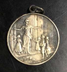 Antigua Medalla 1935 Lujan Escuela Norma