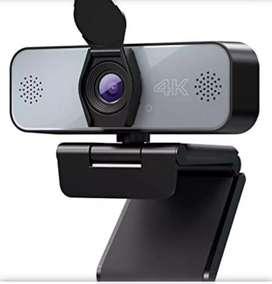 Cámara web 4k micrófono incluido USB 2.0 nuevas envio gratis
