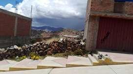 Vendo terreno en Puno  llavini Jr san pedro 271 de 300 M2 con servicios completo