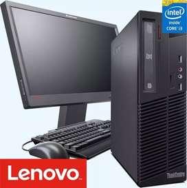 Oferta lenovo core i3 con monitor 19 garantía 6 meses