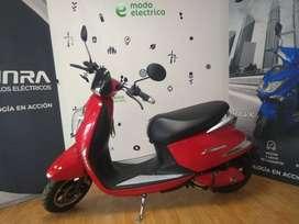 Moto Eléctrica Sunra Grace Litio / Modo Eléctrico Ahora 12