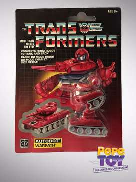Transformers Warpath Generación 1