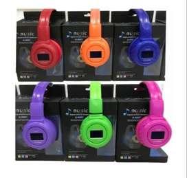 Audífonos Inalámbricos Recargables N65bt