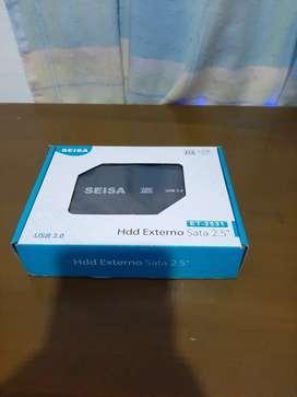 Remato Disco De 500 Gb + Caja Externa USB 3.0, Para Almacenamiento.